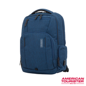 AT美國旅行者 Zork商務多功能筆電後背包(海軍藍)