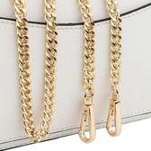 包包鏈條帶配件帶包鏈子單肩帶斜挎背包帶子斜跨寬鐵鏈單買金屬鏈