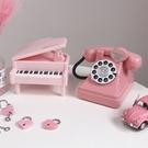仿真電話/鋼琴存錢罐 可愛儲蓄罐 裝飾擺件生日禮物DF