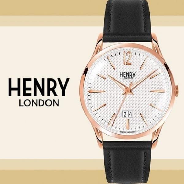 【南紡購物中心】Henry London英國前衛品牌RICHMOND雅痞紳士簡約腕錶HL41-JS-0038公司貨