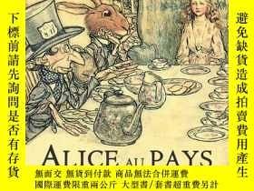 二手書博民逛書店法語有聲罕見Alice au pay des merveille
