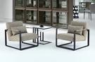 【南洋風傢俱】房間椅洽談椅系列-抽屜小茶几休閒桌椅組 CX692-11 CX606-1
