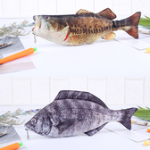 仿真創意魚抖音同款高中生韓版咸魚筆袋鯽魚錢包筆袋學生男女文具盒 喵小姐
