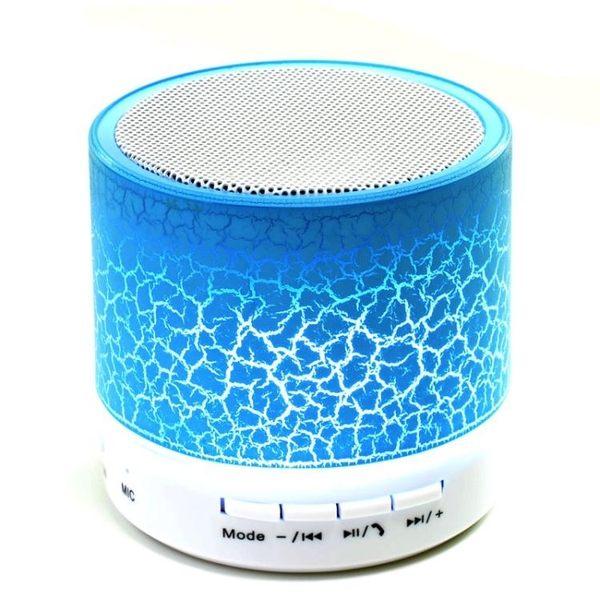 藍牙喇叭 ZOSHI JS25無線手機收音機插卡鋼炮低音七彩燈迷你小音響