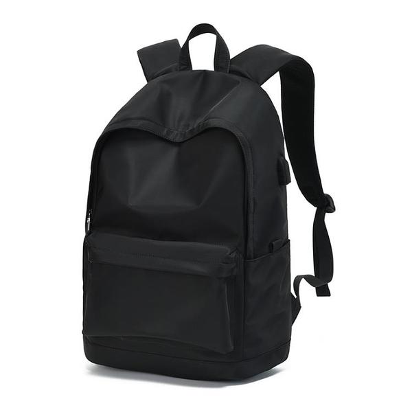 背包男士雙肩包休閒百搭旅行包時尚潮流大學生高中生初中學生書包 酷男精品館