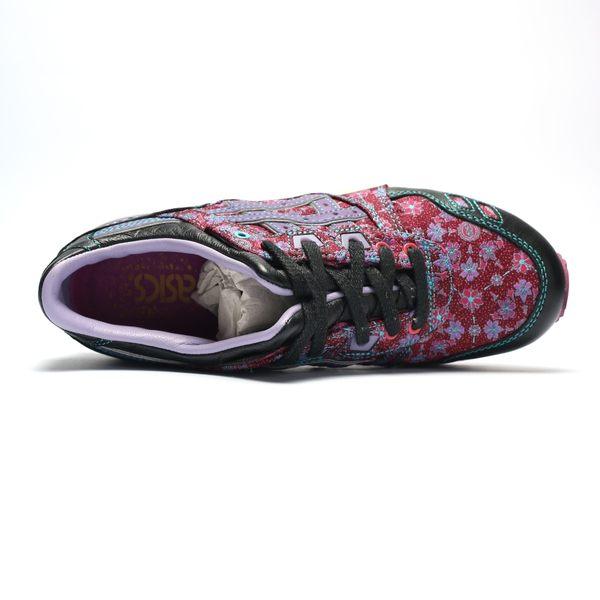 ONITSUKA TIGER GELLYTE III 黑紫 刺繡 慢跑 男女 (布魯克林) 2019/4月 H51XQ3433
