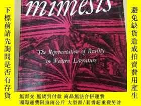 二手書博民逛書店Mimesis:罕見The Representation of Reality in Western Litera