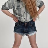 ONETEASPOON BONITA L/W DEN SHORT 牛仔短褲- KIDS BONITA-童裝(藍)