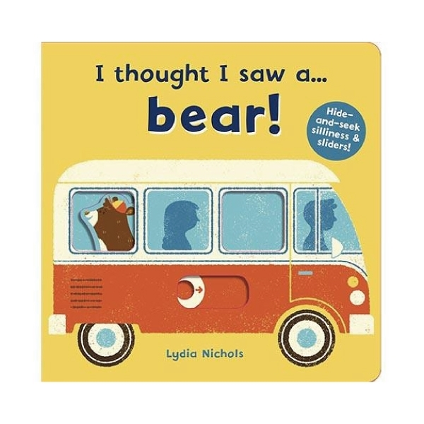 I Thought I Saw A Bear! 熊熊玩捉迷藏-硬頁操作書