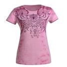 La proie 女式時尚短袖T恤-粉色...