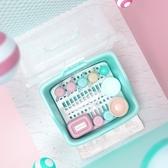 寶寶奶瓶收納箱盒儲存干燥瀝水架帶蓋防塵嬰兒餐具奶粉盒便攜外出叢林之家