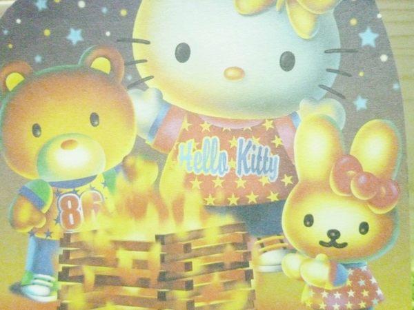 【震撼精品百貨】Hello Kitty 凱蒂貓~造型便條紙-營火晚會圖案【共1款】