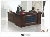 【MK億騰傢俱】ES605-04凱爾斯5.8尺主管辦公桌(不含側櫃、活動櫃)