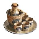 日式復古清酒酒具溫酒器套裝熱酒燒酒壺陶瓷酒盅白酒家用酒杯古風 夢幻小鎮
