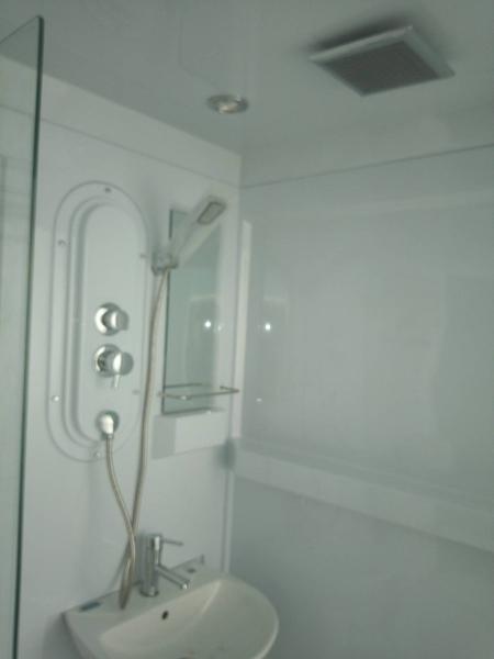 【麗室衛浴】E-351 包租公包租婆最愛.豪華整體浴室 適合遊艇.貨櫃屋.露營車等 170*120*H225CM