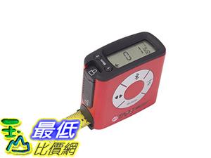 [106美國直購] 數字卷尺 eTape16 ETBT16.75-DB-RP Digital Tape Measure, Bluetooth, Polycarbonate, 16 Red_a126