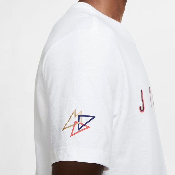 【現貨】NIKE Jordan Sport DNA 男裝 短袖 休閒 純棉 經典 百搭 白【運動世界】CN3331-100