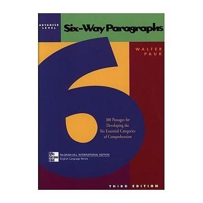 SIX-WAY PARAGRAPHS:ADVANCED LEVEL閱讀策略(調價)