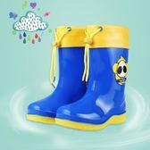 兒童雨鞋男童加絨防滑保暖四季毛口寶寶卡通 LQ1280『夢幻家居』