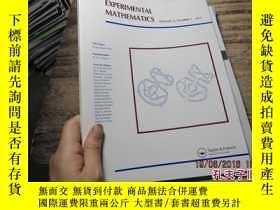 二手書博民逛書店experimental罕見mathematics volume
