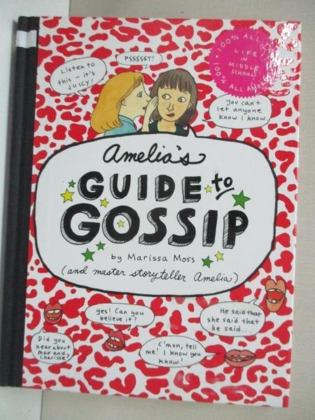 【書寶二手書T1/原文小說_DMH】Amelia's Guide to Gossip: The Good…