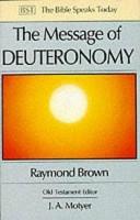 二手書博民逛書店 《The Message of Deuteronomy: Not by Bread Alone》 R2Y ISBN:0851109799│InterVarsity Press