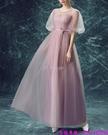(45 Design) 訂製款 7天到貨禮法國蕾絲修身一字公主新娘婚紗禮服齊地蓬蓬顯瘦6
