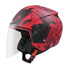 【東門城】ASTONE RST AQ7 (平光紅/黑) 3/4 半罩式安全帽