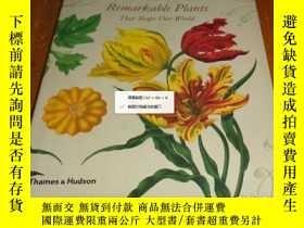 二手書博民逛書店2手英文罕見Remarkable Plants That Sha