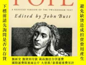 二手書博民逛書店The罕見Poems Of Alexander PopeY362136 Patrick. Butt Yale