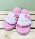 【震撼精品百貨】Hello Kitty 凱蒂貓~三麗鷗 Hello kitty 夾腳五指室內拖鞋-粉蝴蝶結#13072
