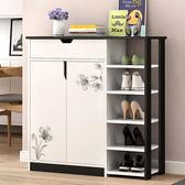 簡約現代鞋櫃家用簡易儲物櫃客廳門廳櫃鞋櫃玄關置物櫃小櫃子 耶誕交換禮物xw