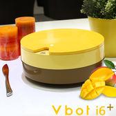 【送擦地組】Vbot 二代蛋糕機 i6+ 掃地機 掃地機器人 加強版 (芒果)