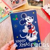 正版 迪士尼 DISNEY 米奇米妮 聖誕節卡片 耶誕卡片 大卡片 附信封 F款 COCOS XX001
