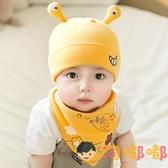 嬰兒帽子男寶寶帽子新生兒帽子套頭帽女童帽護頭胎帽【淘嘟嘟】