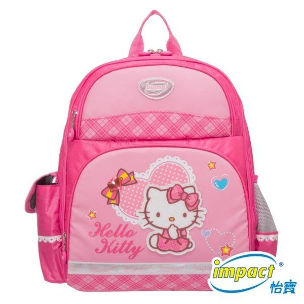IMPACT怡寶 X Hello Kitty 怡寶Kitty聯名輕量護脊書包-大(IMKTA03PK)粉
