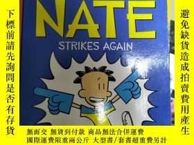 二手書博民逛書店罕見~Big Nate Strikes Again大頭奈特再次出