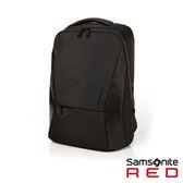 Samsonite RED  ALPONDS  流線休閒中性筆電後背包14 (黑)