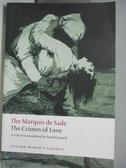 【書寶二手書T1/原文小說_ANW】The Crimes of Love: Heroic and...by an Essay on Novels