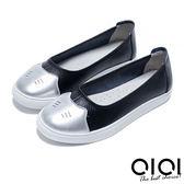 娃娃鞋 俏皮貓咪超透氣真皮娃娃鞋(黑)*0101shoes  【18-729bk】【現+預】