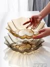 果盤ins風亞克力果盤創意現代簡約家用客廳茶幾零食糖果水果瓜子托盤 晶彩