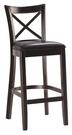 【南洋風休閒傢俱】造型吧檯椅系列- 胡桃...