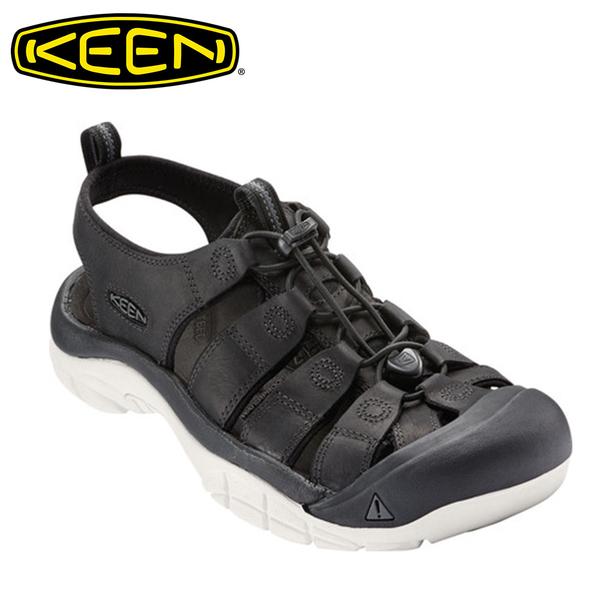 KEEN Newport ATV  護趾避震編織涼鞋 男款 黑 #16865