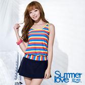 【夏之戀SUMMERLOVE】啦啦隊長版二件式泳衣-S16705