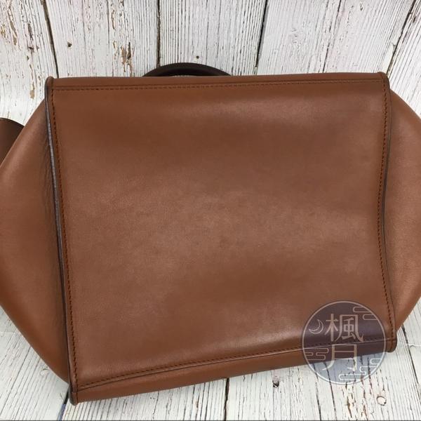 BRAND楓月 CELINE 咖啡色 棕色 BIG BAG 小牛皮 大手袋 肩背包 側背包