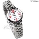 TIVOLINA 星星時刻 數字錶 對錶 防水手錶 藍寶石水晶鏡面 日期顯示窗 白色 LAW3683-R