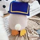 寵物衣服泰迪犬比熊狗狗服裝企鵝裝毛絨背心 【極簡生活】