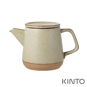 日本KINTO CERAMIC LAB茶壺500ml - 共兩色米