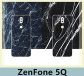 華碩 ZenFone 5Q (ZC600KL) 木紋岩石元素風 手機殼 簡約 大理石紋 TPU軟殼 保護殼 黑邊全包