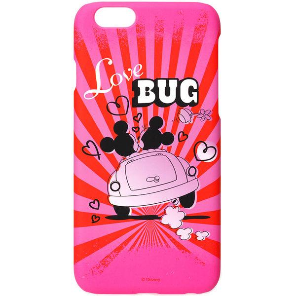 iJacket iPhone 6 / 6s 迪士尼 復古霧面硬式保護殼 - 米奇米妮兜風去